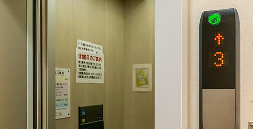 館内エレベーター完備